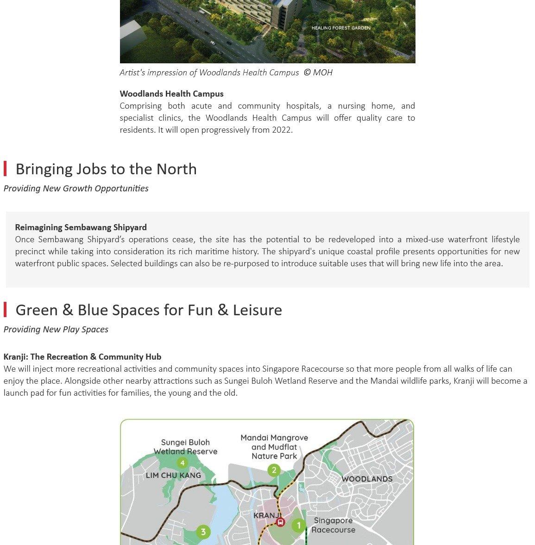 URA Master Plan - North Region 8
