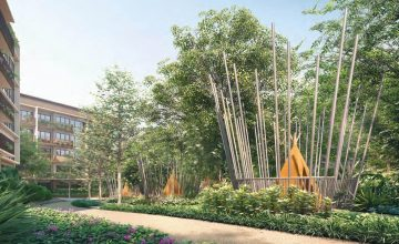 The Watergardens at Canberra Teepee Decks 3