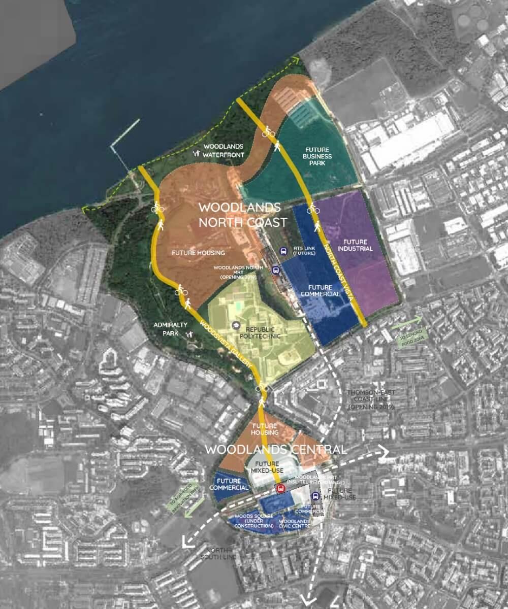 URA Master Plan - Woodlands Regional Centre 9
